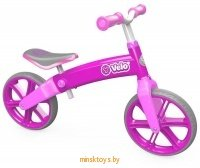 Беговел Yvolution Velo Balance, розовый YVolution 100197 icon | minsktoys.by
