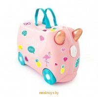 Чемодан на колесиках 'Фламинго Флосси' Trunki 0353-GB01 - Minsktoys.by